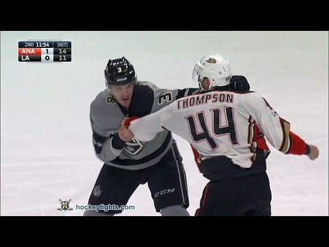 Brayden McNabb vs. Nate Thompson