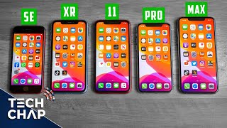 The iPhone Buying Guide 2020! (SE vs XR vs 11 vs Pro vs Max) | The Tech Chap