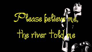 The Doors - Yes, The River Knows (with the lyrics on the screen)