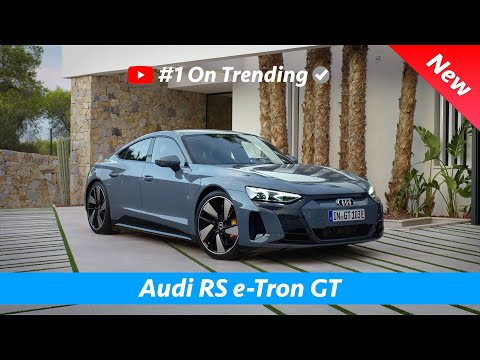 Audi RS e-Tron GT 2021 - FIRST Look | Is this the Porsche Taycan Killer?