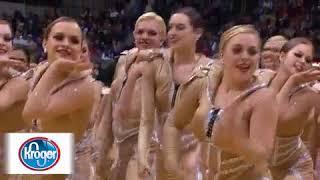 Kroger Halftime Show - Emerald Belles High Kick 03-03-12