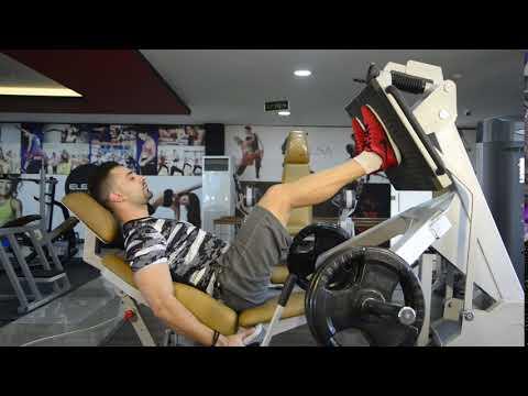 دفع مزدوج ضيق - دفاش مزدوج ضيق -  Narrow Stance Leg Press