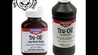 How To Refinish Your Gunstock With Truoil Pt 2 Cleaning And First Coat Of Truoil