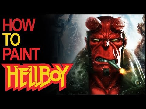 Hellboy Painting Guide - New Mantic Miniature Game
