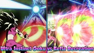 Ultra Instinct Goku vs Kefla! Goku Eliminates Kefla! Reenacting Epic Fights! - Xenoverse 2