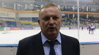 Евгений Зиновьев прокомментировал матчи против ХК «Алматы»