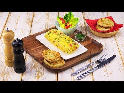 Omelett aus dem Beutel