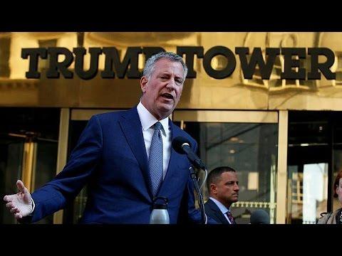 ΗΠΑ: Προειδοποιητικές βολές προς τον Ντόναλντ Τραμπ από τον δήμαρχο της Νέας Υόρκης