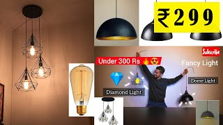Hanging Lights Rs 500 | Home Decor | Breakless Unboxing |