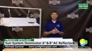 Dominator XXXL 6 and 8 Air-Cooled Reflectors