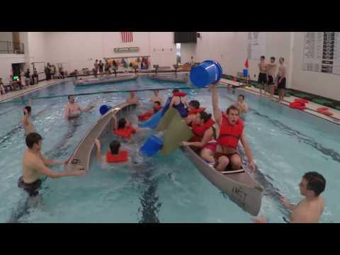 Missouri S&T: Intramural battleship canoe swamping