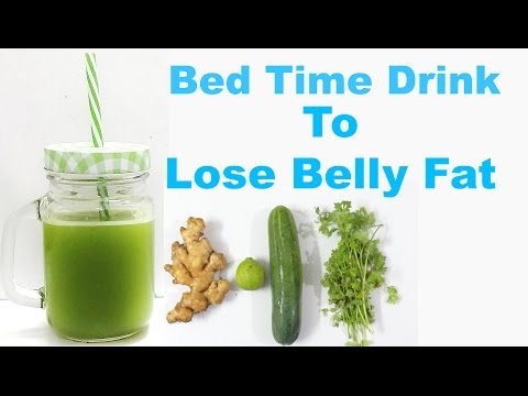 Video Bed Time Drink To Lose Belly Fat in a Week