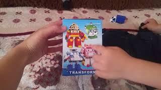 Робокар Поли. Робот-трансформер. Мультфильм Робокар Поли и друзья. Robocar Poli. Robot- transformer.