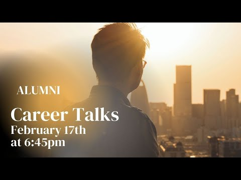 Career Talk MSc in International Masters 2021 02 17
