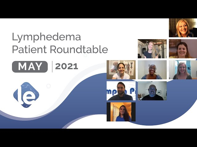 Lymphedema Patient Roundtable – May 2021