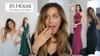 I TRIED OUT JJS HOUSE PROM, EVENING + BRIDESMAID DRESSES.. IM SHOOK! + Discount Code