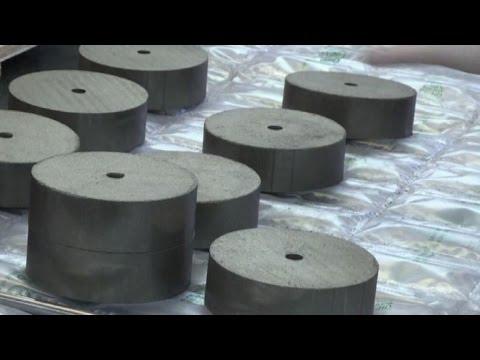 Idrogeno in dischi per stoccare il surplus di elettricità