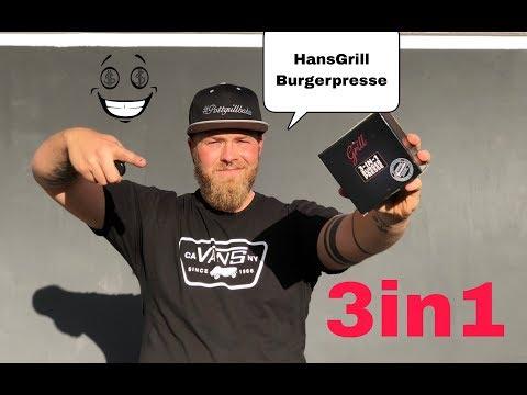 3in1 Burgerpresse von HansGrill
