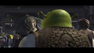 Shrek annoys General Grievous