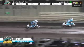 Knoxville Raceway - Pace Pro Sprints Highlights - May 1, 2021
