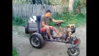 Tractoras Facut Acasa La Moloz