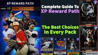 Complete Guide To XP Reward Path! The Best Choices At Every Level! Who To Pick?? [MLB The Show 20]