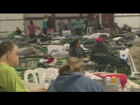 Thomas Fire Evacuees Find Shelter, New Neighbors