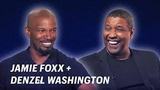 Jamie Foxx Interviews Denzel Washington || OFF SCRIPT a Grey Goose Production - dooclip.me