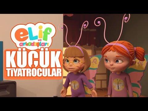 Elif ve Arkadaşları - Bölüm 27 - Küçük Tiyatrocular - TRT Çocuk çizgi film