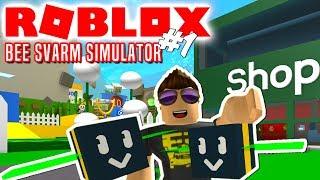 BIEN FJOLSEN! - Roblox Bee Swarm Simulator Dansk Ep 1