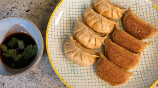 How to make 1 carb keto vegan gyoza dumplings | LCHF keto vegan