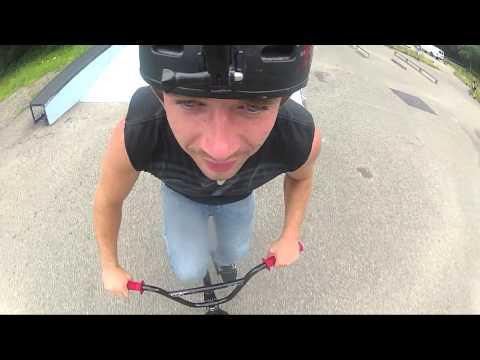 TK Helmet Cam - McKinley Skatepark / Sheridan Skatepark