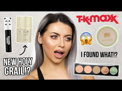 TESTING TK MAXX MAKEUP?! FULL FACE OF FIRST IMPRESSIONS