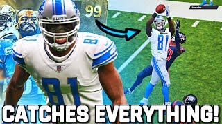 99 MEGATRON CATCHES EVERYTHING!! Best Wide Receiver in the Game