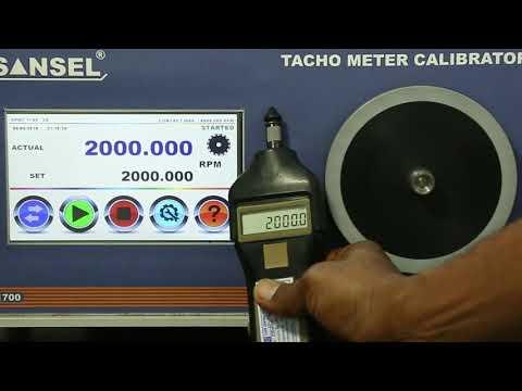 Tachometer Calibrator 8000 RPM