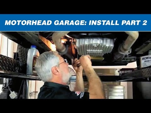 Motorhead Garage: Changing Your Transmission Pan and Differential Cover Design Part 2 of 2