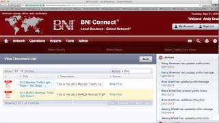 How to access Member Traffic Lights in BNI Connect