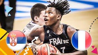 Serbia v France - Quarter-Final - Full Game - FIBA U16 European Championship 2018