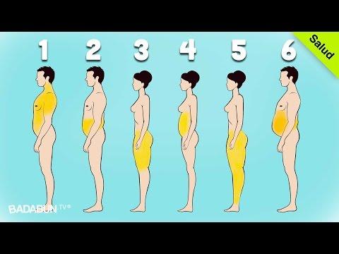 Como librarse de la celulitis en el vientre y de los lados
