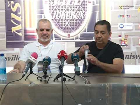 Info - The Gipsy Kings za kraj Nišvila - (TV KCN 12.08.2018)