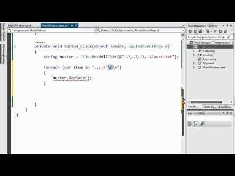 03C.5 Textgenerator mit N-Grammen in C#, Teil 1