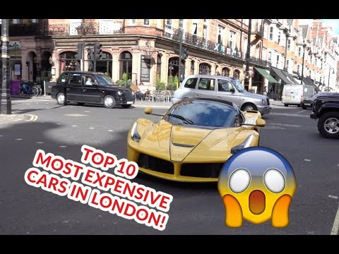 OMG!! Top 10 Most Expensive Cars In London