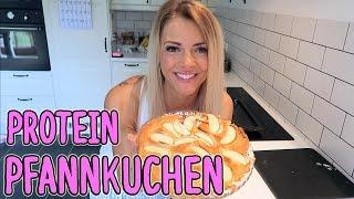 Der BESTE Protein Pfannkuchen   Pancake - 49 Kalorien, 11g Protein - NO CARB - Rezept