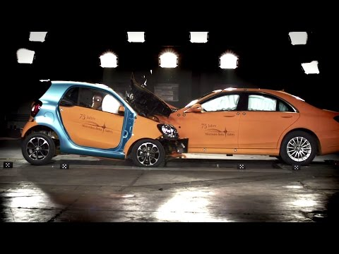 Crash Test nuevo smart Vs. MB Clase S