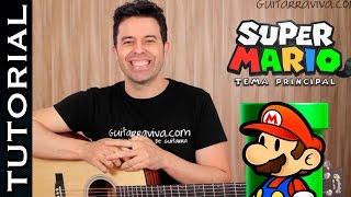 Como Tocar MARIO BROS En Guitarra Acústica Clase Tutorial  COMPLETO !