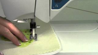 Viking Opal 670   45 Blanket Stitches For Machine Applique
