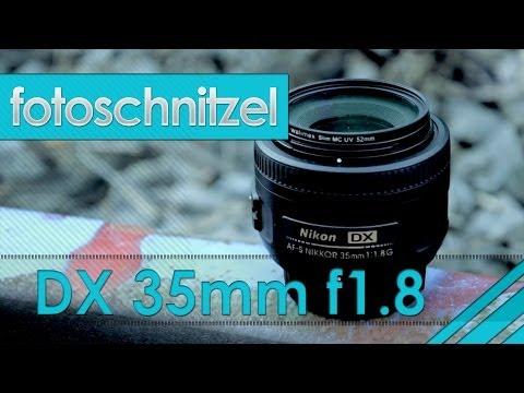 Lichtstarke Objektive - das DX 35mm f1.8 von Nikon (Review)