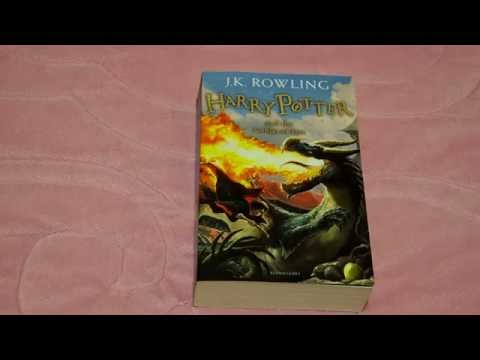 Harry Potter and the Goblet of Fire Paperback UK New Cover 2014
