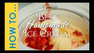 My Favorite Ice Cream Recipe
