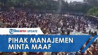 Viral Video Ratusan Orang Pesta Kolam Renang di Deliserdang, Manajemen Sampaikan Permohonan Maaf